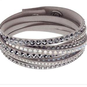 Swarovski Slake Deluxe Gray Bracelet